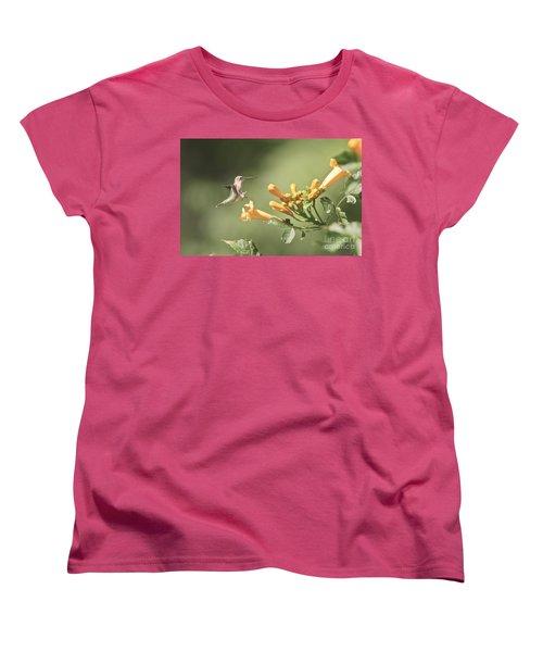 Soft Landing Women's T-Shirt (Standard Cut) by Robert Pearson