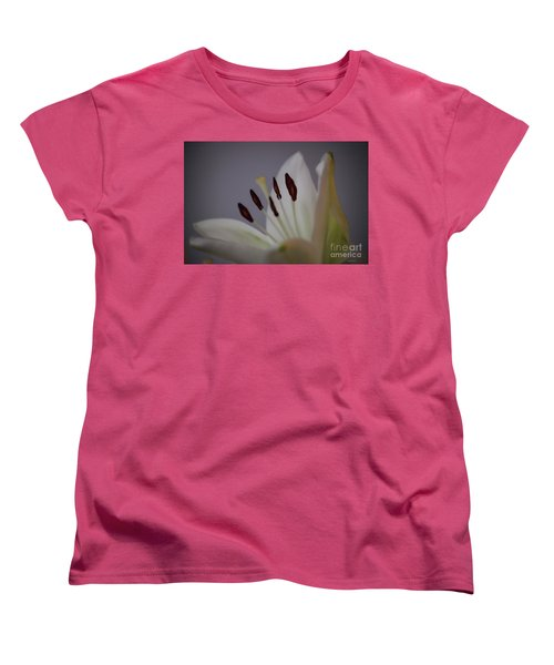 Soft Lily Women's T-Shirt (Standard Cut) by Roberta Byram