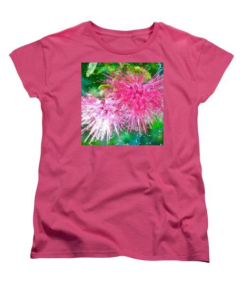 Soft Pink Flower Women's T-Shirt (Standard Cut)