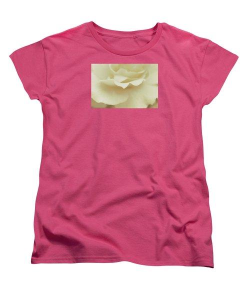 Women's T-Shirt (Standard Cut) featuring the photograph Soft Tender Rose by The Art Of Marilyn Ridoutt-Greene