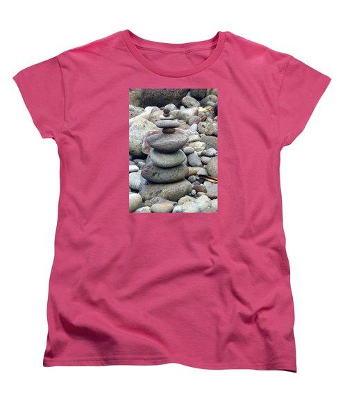 Solace Women's T-Shirt (Standard Cut) by Angela Annas