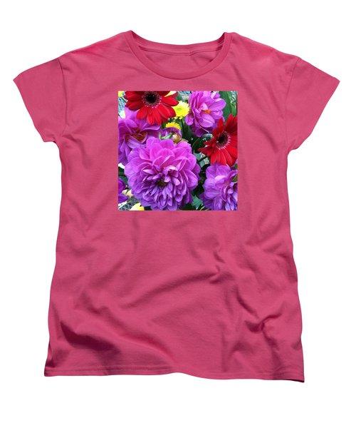 Some Fall Flowers For Inspiration! Women's T-Shirt (Standard Cut) by Jennifer Beaudet