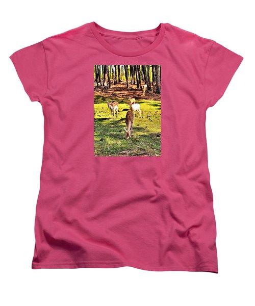 Something This Way Cometh Women's T-Shirt (Standard Cut) by James Potts