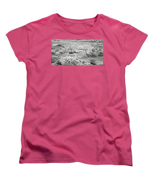 Somewhere In Vinales Women's T-Shirt (Standard Cut) by Eduard Moldoveanu