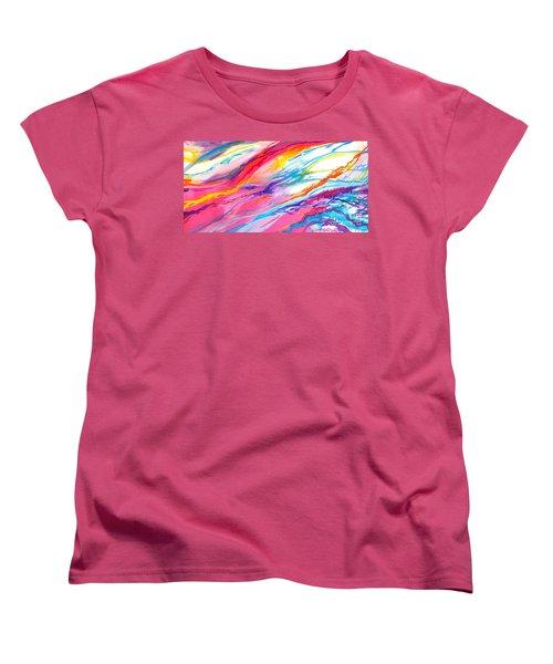 Soul Escaping Women's T-Shirt (Standard Cut) by Expressionistart studio Priscilla Batzell