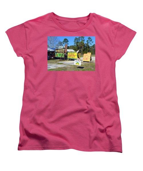Southern Delights Women's T-Shirt (Standard Cut) by Carla Parris