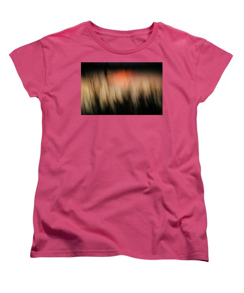 Women's T-Shirt (Standard Cut) featuring the photograph Southwestern Sunset by Marilyn Hunt