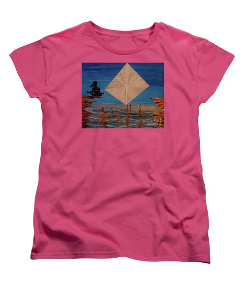 Women's T-Shirt (Standard Cut) featuring the painting Soycd by Stuart Engel