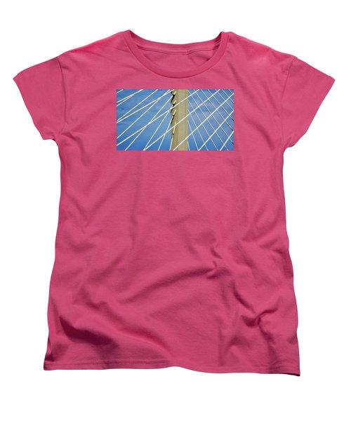 Span Women's T-Shirt (Standard Cut) by Martin Cline