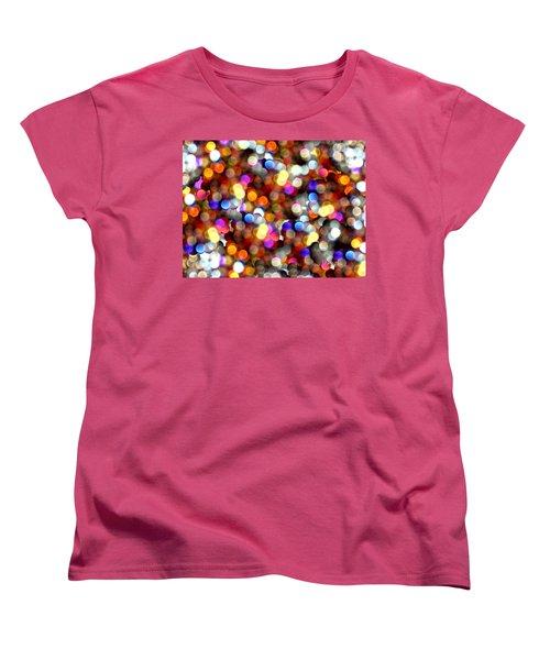 Sparkles #8885_4 Women's T-Shirt (Standard Cut) by Barbara Tristan