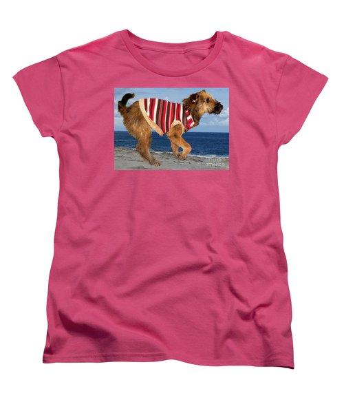 Sparky Women's T-Shirt (Standard Cut) by Al Bourassa