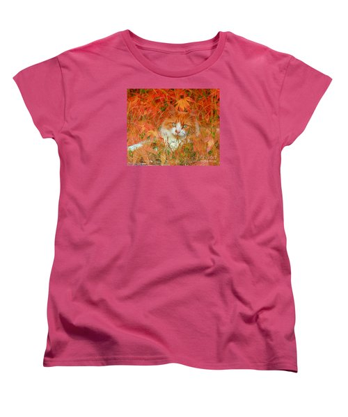 Special Kitty Women's T-Shirt (Standard Cut) by Geraldine DeBoer