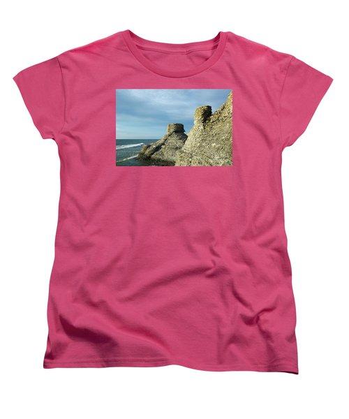 Spectacular Eroded Cliffs  Women's T-Shirt (Standard Cut) by Kennerth and Birgitta Kullman