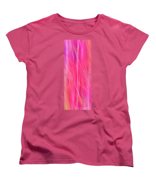 Women's T-Shirt (Standard Cut) featuring the photograph Spider Lily Mix by Cheryl McClure
