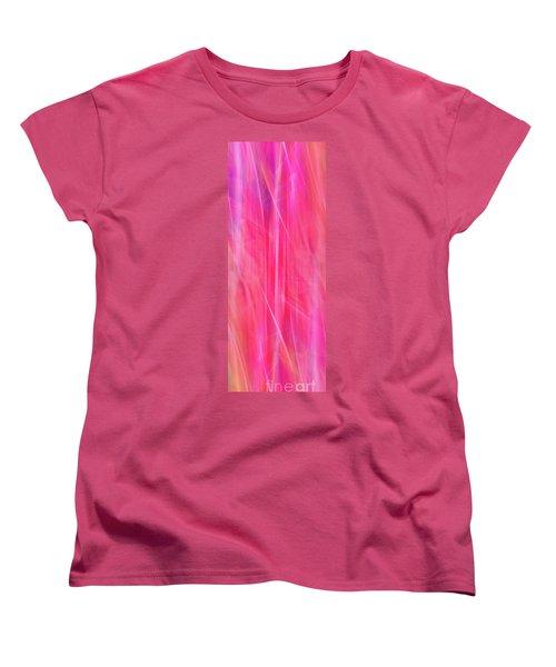 Spider Lily Mix Women's T-Shirt (Standard Cut) by Cheryl McClure