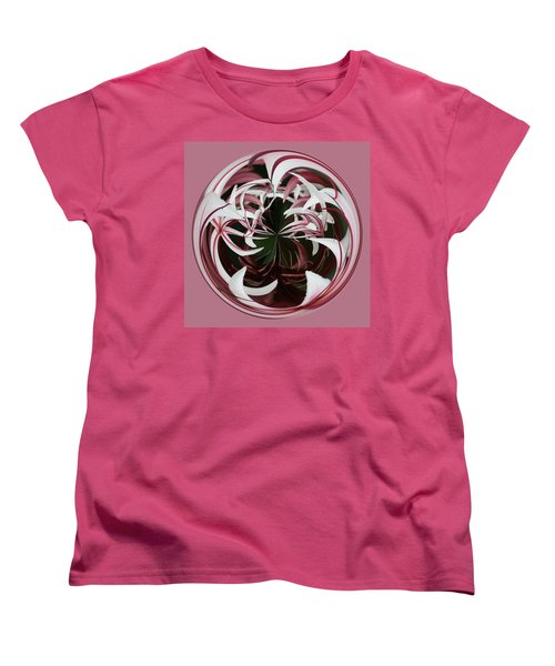 Women's T-Shirt (Standard Cut) featuring the photograph Spider Lily Orb by Bill Barber