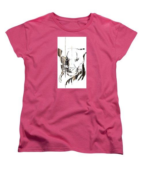 Spirit Animal . Cougar Women's T-Shirt (Standard Cut) by John Jr Gholson