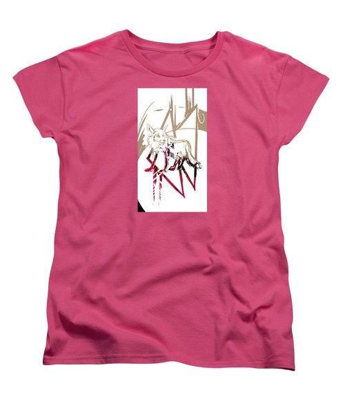 Spirit Animal . Fox Women's T-Shirt (Standard Cut) by John Jr Gholson