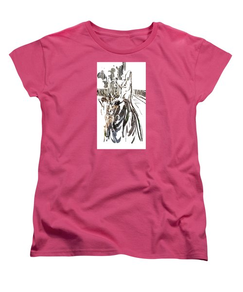 Spirit Animal . Owl Women's T-Shirt (Standard Cut) by John Jr Gholson