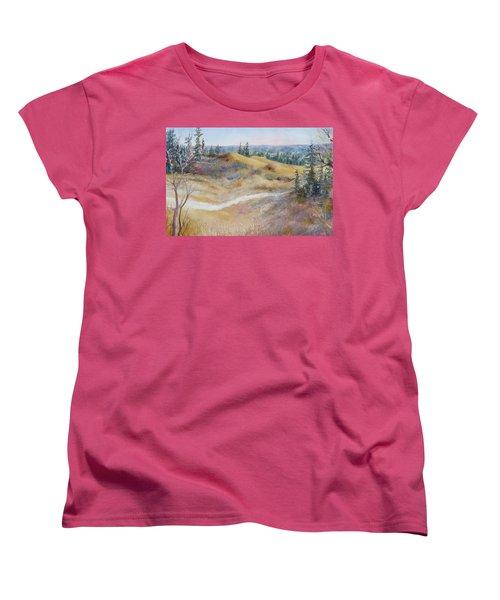 Spirit Sands Women's T-Shirt (Standard Cut) by Ruth Kamenev