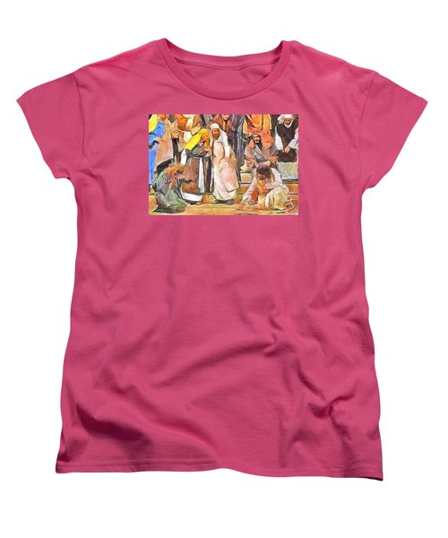 Spiritual Makeover Women's T-Shirt (Standard Cut) by Wayne Pascall
