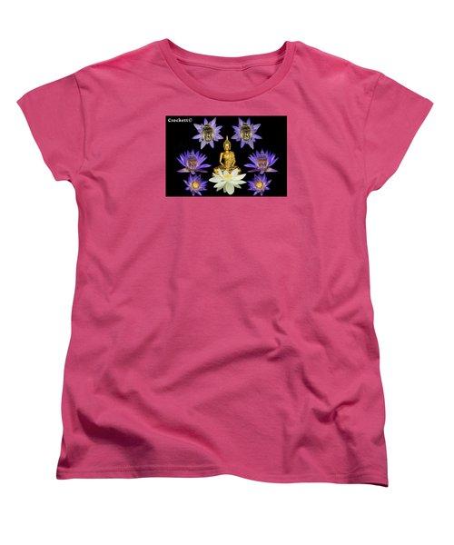 Spiritual Water Lilly Women's T-Shirt (Standard Cut) by Gary Crockett