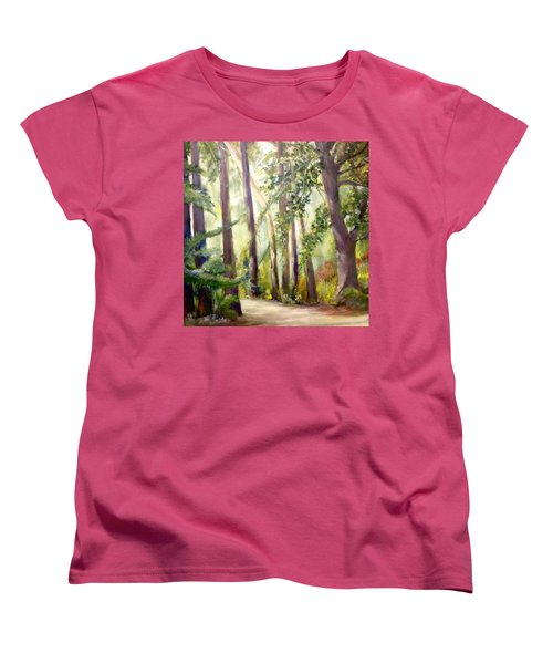 Spirt Of The Green Trees Women's T-Shirt (Standard Cut)