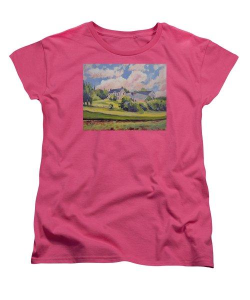 Spring At The Hoeve Zonneberg Maastricht Women's T-Shirt (Standard Cut) by Nop Briex