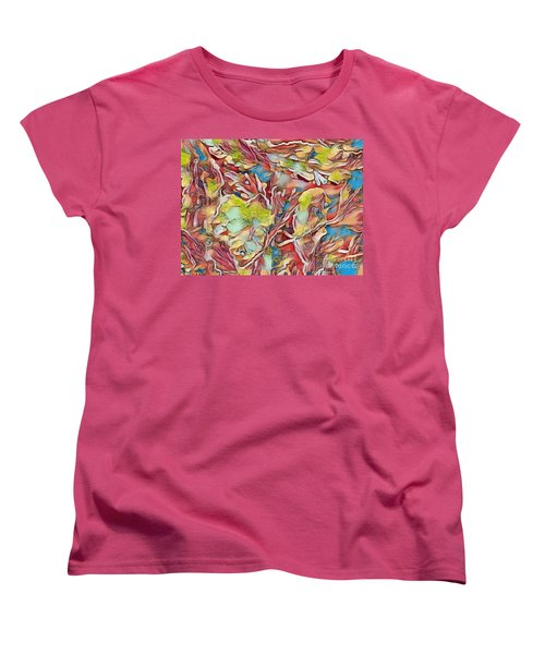Women's T-Shirt (Standard Cut) featuring the photograph Spring Breaks Forth by Kathie Chicoine