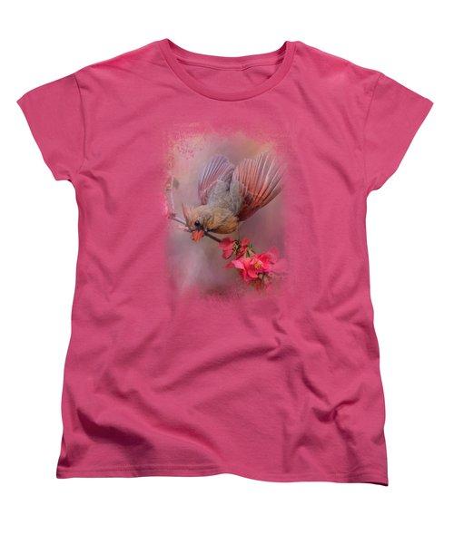 Spring Cardinal 2 Women's T-Shirt (Standard Cut) by Jai Johnson