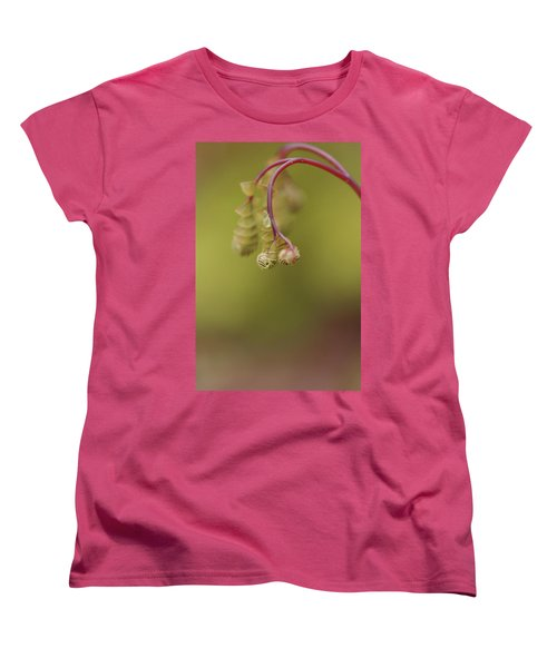 Women's T-Shirt (Standard Cut) featuring the photograph Spring Coming 2017 by Jeff Burgess