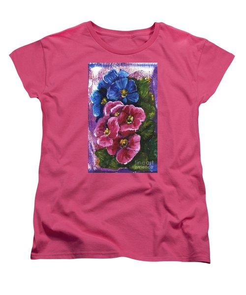 Spring Flowers Women's T-Shirt (Standard Cut)