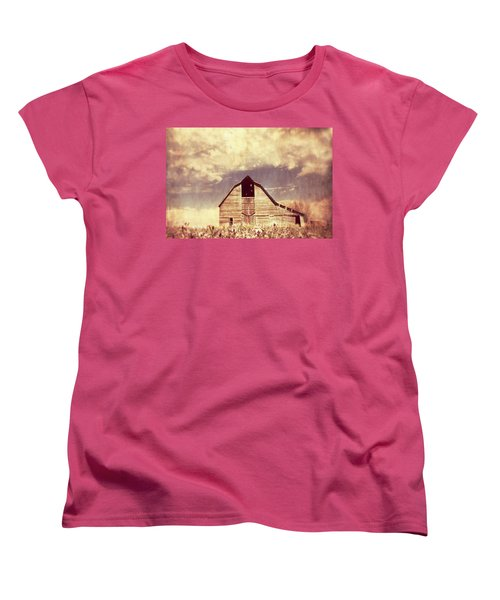 Women's T-Shirt (Standard Cut) featuring the photograph Spring In Kansas  by Julie Hamilton