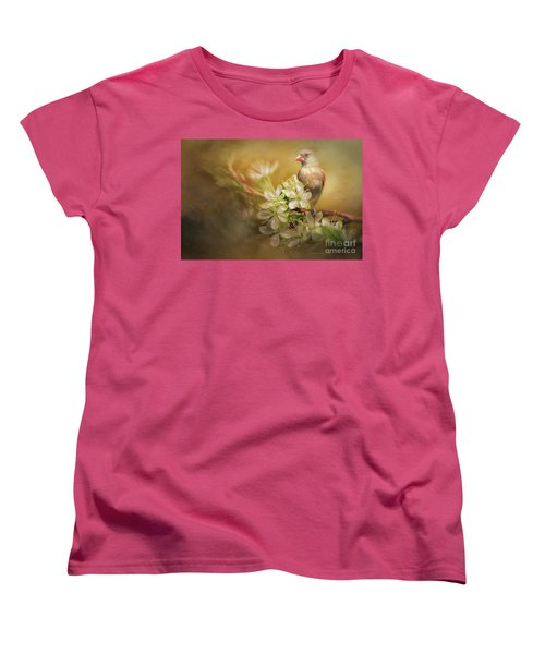 Women's T-Shirt (Standard Cut) featuring the photograph Spring Is In The Air by Linda Blair