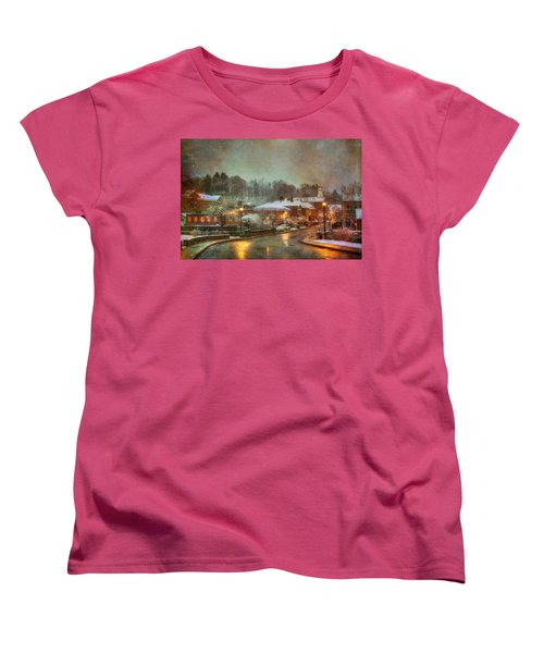 Spring Snow In Peterborough Nh Women's T-Shirt (Standard Cut)