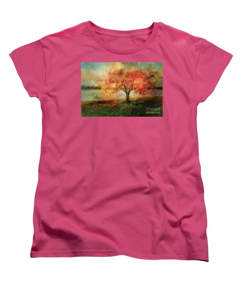 Sprinkled With Spring Women's T-Shirt (Standard Cut) by Lois Bryan