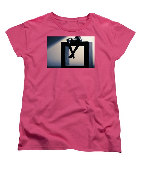 Women's T-Shirt (Standard Cut) featuring the photograph Square Foot by David Sutton