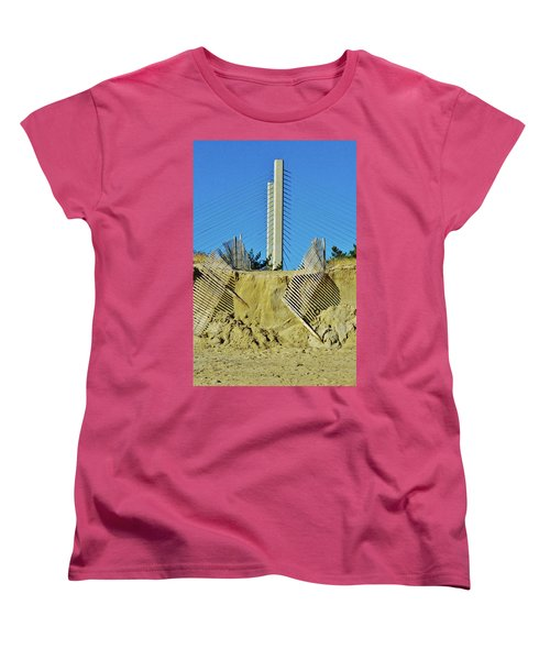 Stand The Storm Women's T-Shirt (Standard Cut) by William Bartholomew