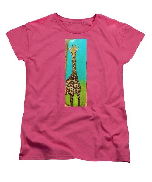 Standing Tall Women's T-Shirt (Standard Cut) by Ann Michelle Swadener