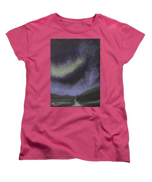 Star Path Women's T-Shirt (Standard Cut) by Dan Wagner