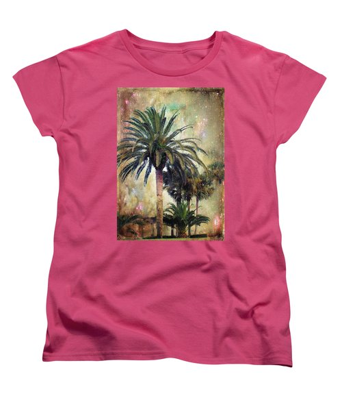 Starry Evening In St. Augustine Women's T-Shirt (Standard Cut) by Jan Amiss Photography