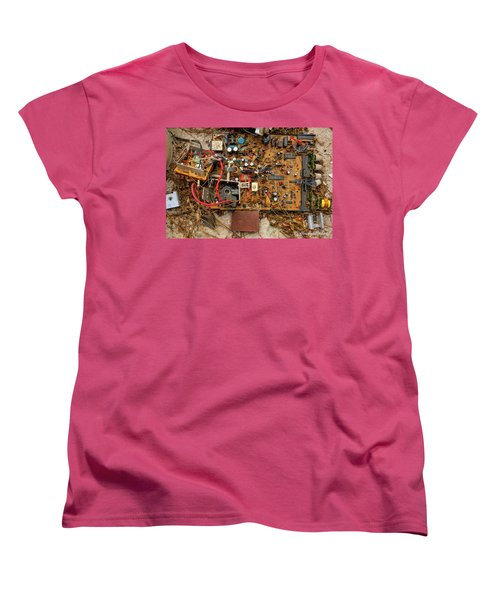 Women's T-Shirt (Standard Cut) featuring the photograph State Of The Art by Christopher Holmes