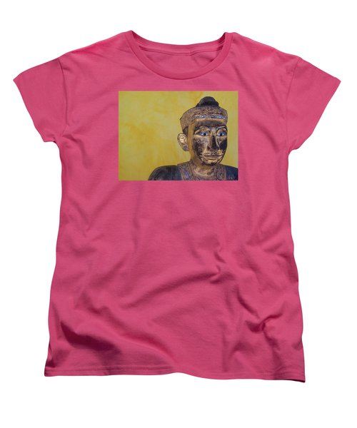 Women's T-Shirt (Standard Cut) featuring the photograph Statue by Mary-Lee Sanders