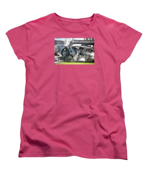 Steam Engine #30 Women's T-Shirt (Standard Cut) by Scott Hansen