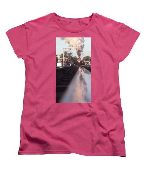 Steaming Up Women's T-Shirt (Standard Cut) by Gordon Mooneyhan