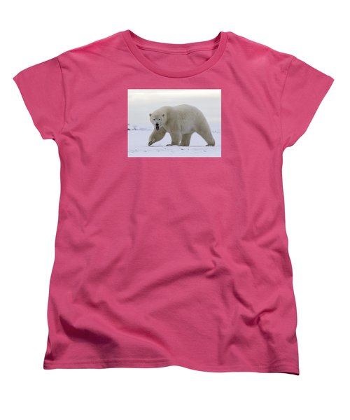 Stepping Out In The Arctic Women's T-Shirt (Standard Cut)