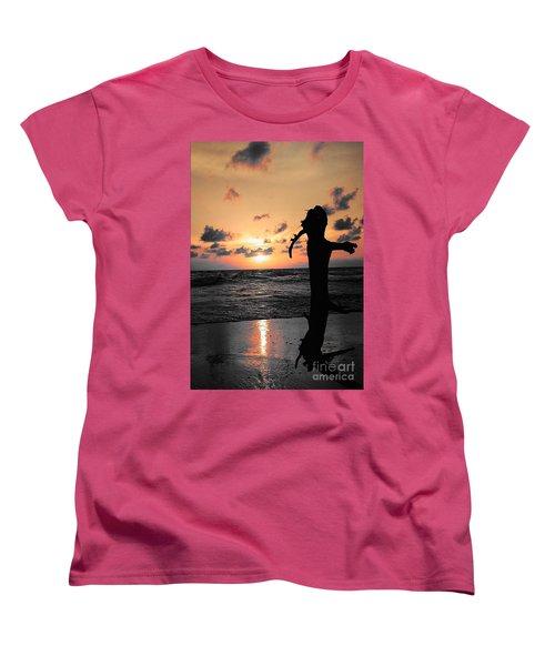 Still By Sea Women's T-Shirt (Standard Cut) by Rushan Ruzaick