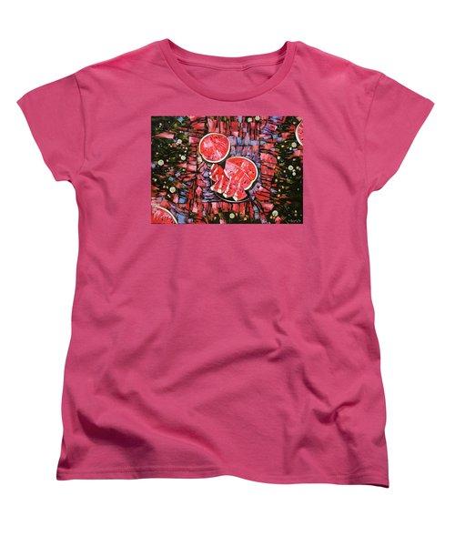 Still Life. The Taste Of Summer. Women's T-Shirt (Standard Cut) by Anastasija Kraineva