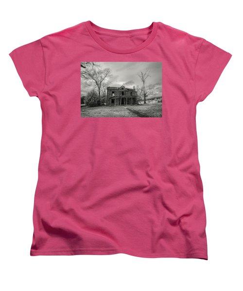 Still Standing Women's T-Shirt (Standard Cut) by Paul Seymour
