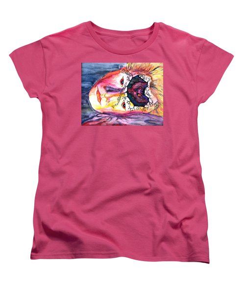 Sting Having A Nightmare Women's T-Shirt (Standard Cut) by Angela Murray